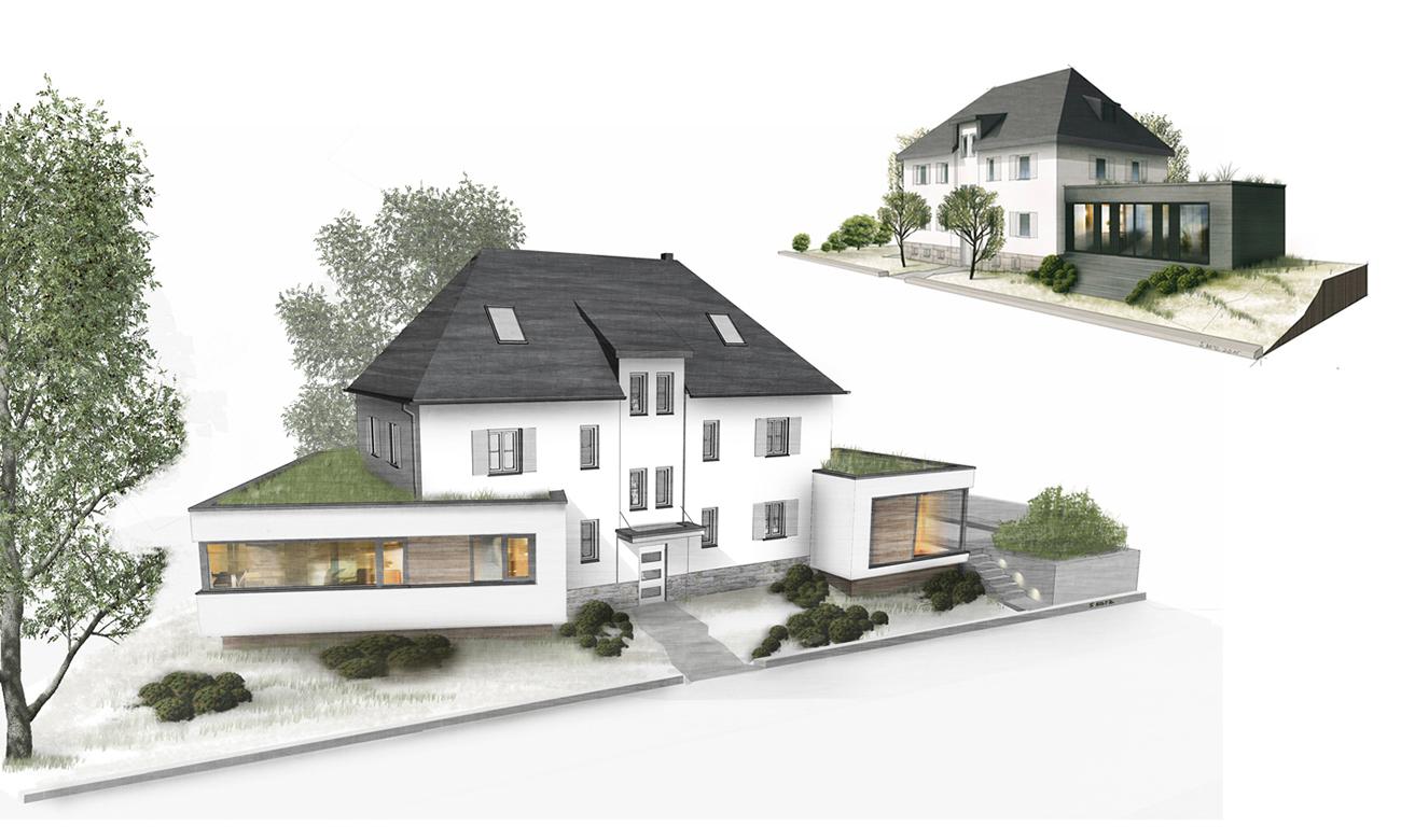 Haus zeichnen lassen professionell