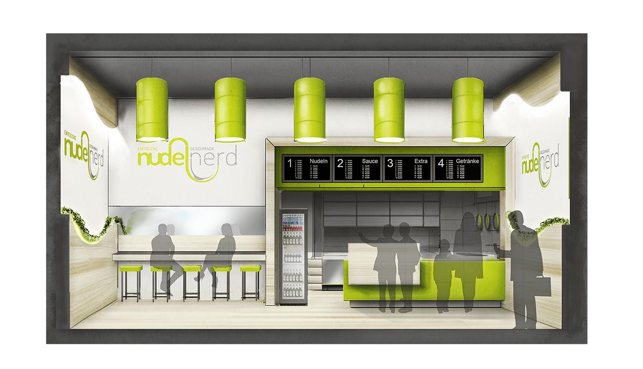 Gastronomie Restaurant Grundriss Bauplan Grundriss-Manufaktur