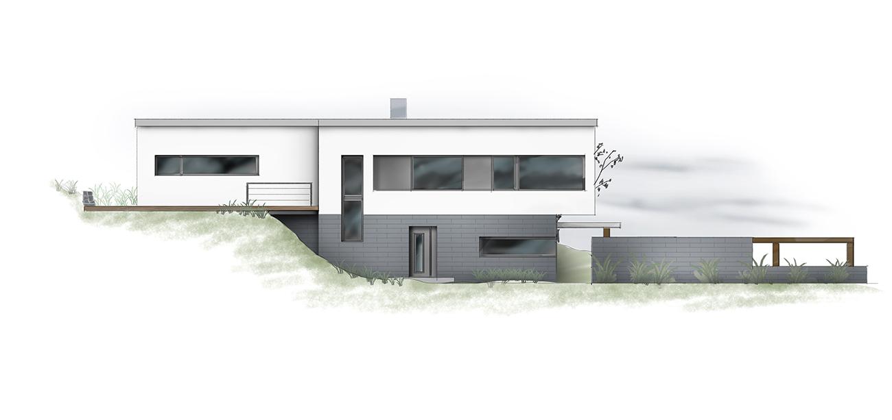 Zeichnung Haus professionell Grundriss Manufaktur