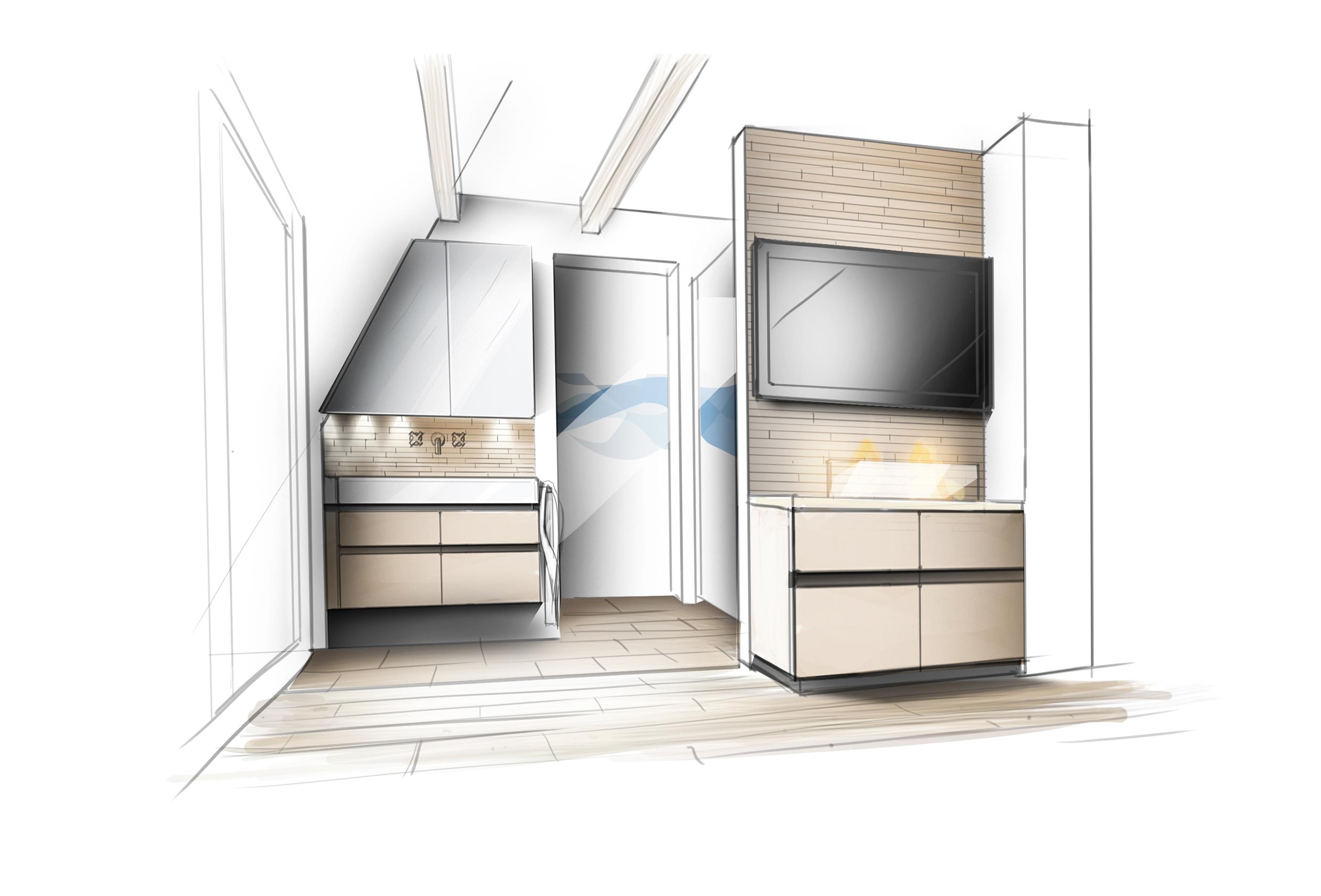 Bad Haus 3DGrundriss zeichnen lassen Grundriss-Manufaktur